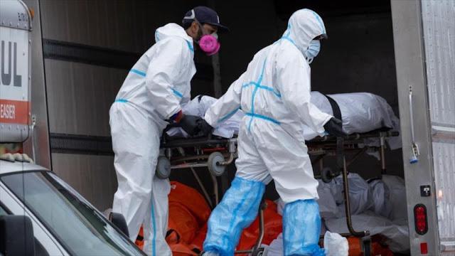 Geriátrico en Nueva York guarda cadáveres en camión frigorífico
