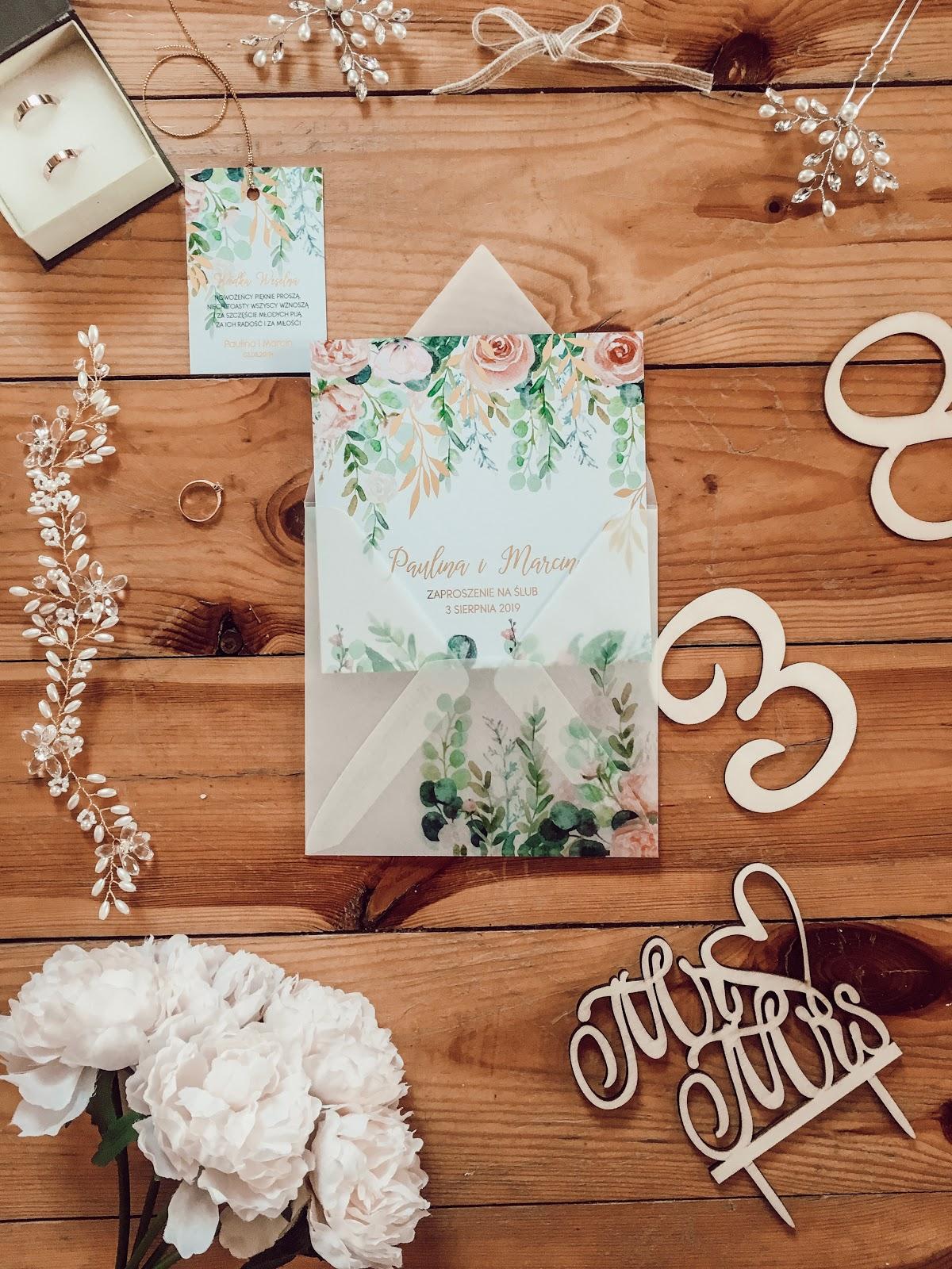 ZAPROSZENIA ŚLUBNE - AMELIA WEDDING