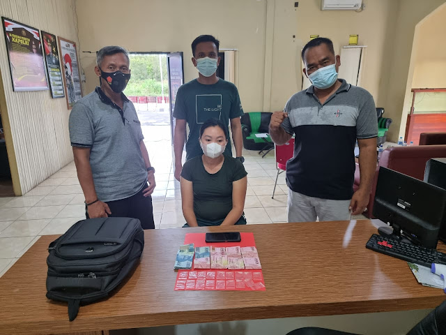 Simpan 18 Paket Sabu, IRT Warga Tumbang Terusan Diamankan Polisi