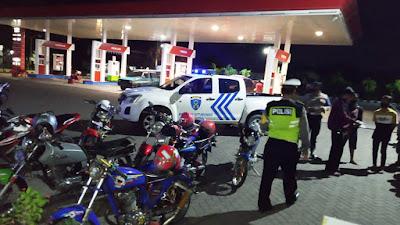 Cegah Balap Liar, Polres Situbondo Amankan 8 Unit Sepeda Motor Protolan