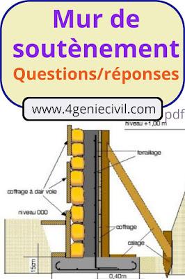 définition mur de soutènement pdf