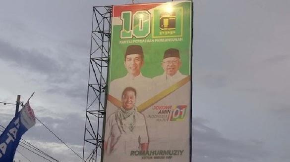 Takut Elektabilitas Makin Jeblok, Nasdem Minta Gambar Rommy-Jokowi Diturunkan
