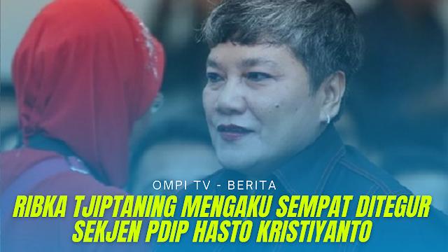 Ribka Tjiptaning Kena Marah Sekjen PDIP Karena Tolak Divaksinasi