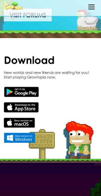 download game growtopia di laptop
