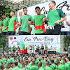 Car Free Day Bersama Mayjen TNI Andi Sumangerukka, Pangdam Hasanuddin