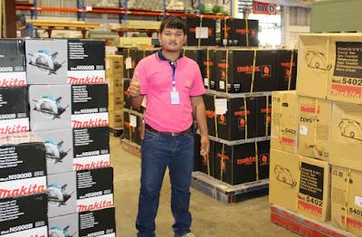 Isaan Thailand Makita Maktec Tool Inventory