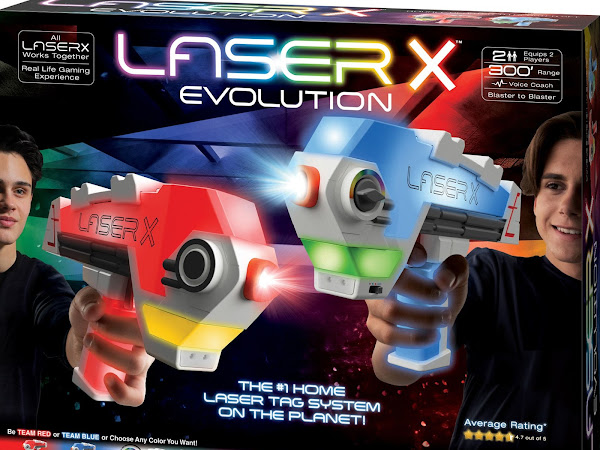 Put the Laser X Evolution under your tree