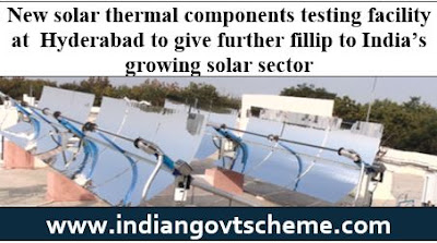 New solar thermal components