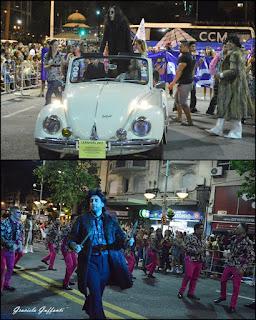 Desfile Inaugural del Carnaval. Uruguay. 2017 Parodistas Los Antiguos