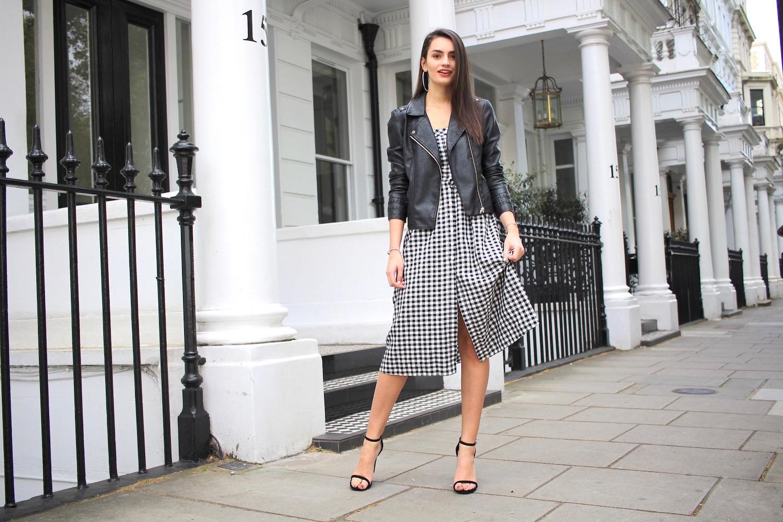 spring monochrome style peexo blogger