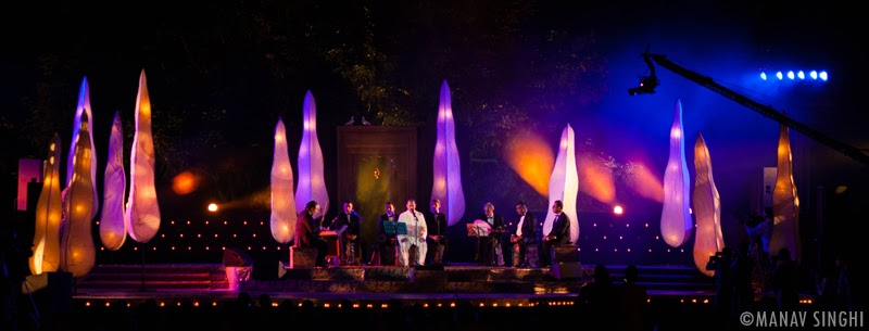 Jahan-e-Khusrau, the Annual World Sufi Music Festival also happens in Central park, Jaipur.