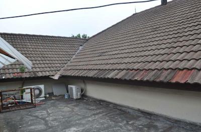gambar atap rumah minimalis model gergaji