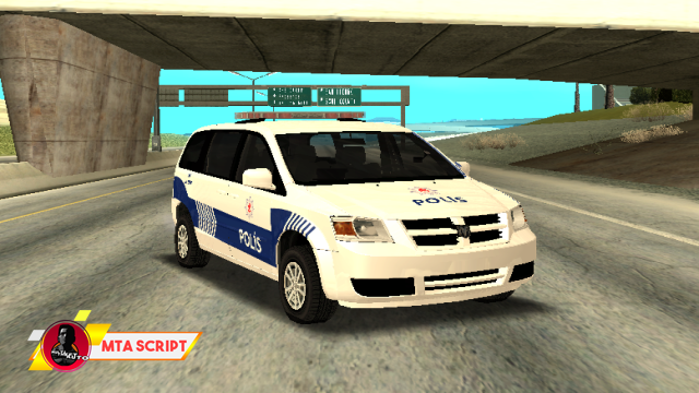 MTA:SA Trafik Polisi Aracı