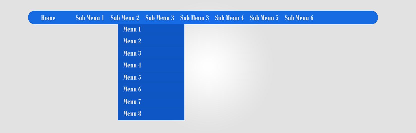 Stylish CSS Drop Down Menu in Blogspot