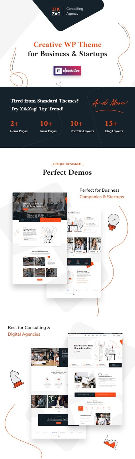 Consulting & Agency Theme