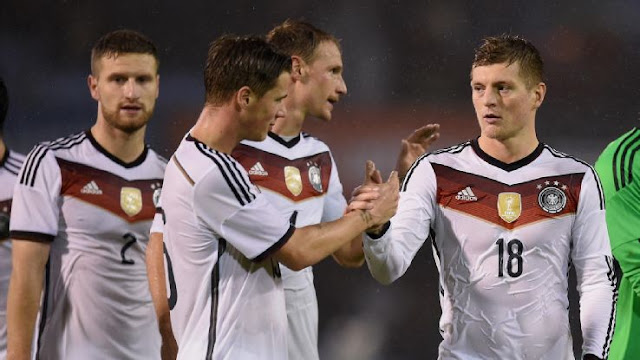 Germany Vs Ukraine time and telecast