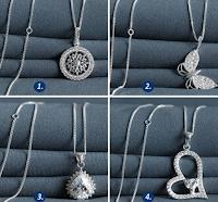 Logo Vinci una collana in argento 925 Gioielli Eshop: partecipa gratis