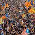 Graves disturbios en Barcelona tras manifestación del independentismo catalán