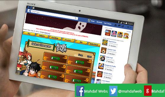 Cara Mudah Bermain Game Facebook di Tab/HP Android ...