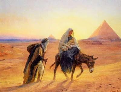 Capitol LXXXVII. Com la senyora exint de la coua dels ladres continua son cami: e peruengue en terra de egypte.