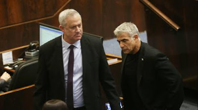 Reviravolta na política israelense