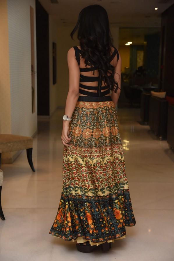 Avanthika Mishra Spicy Black Top Suit Stills