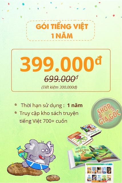 Mua gói Tiếng Việt 1 năm Umbalena ở đâu? Giá bao nhiêu?