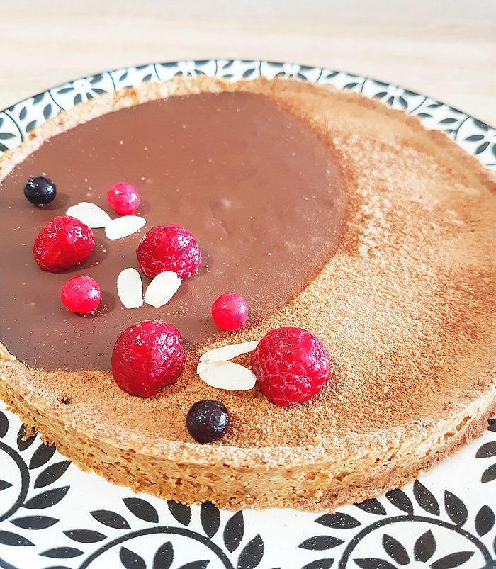 tarte chocolat, vegan, végétalien, dessert vegan, cuisine vegan, vegan food, recette vegan, recette végétalienne, recette, bynezha, végétarien, sans lactose, ganache lait de coco, sans beurre, blog, blogueuse