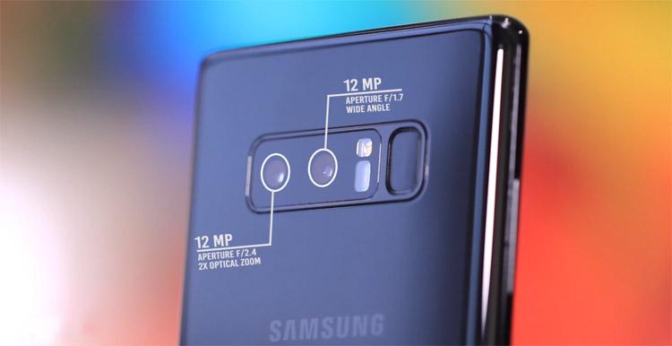 Spesifikasi kamera Samsung Galaxy Note 8