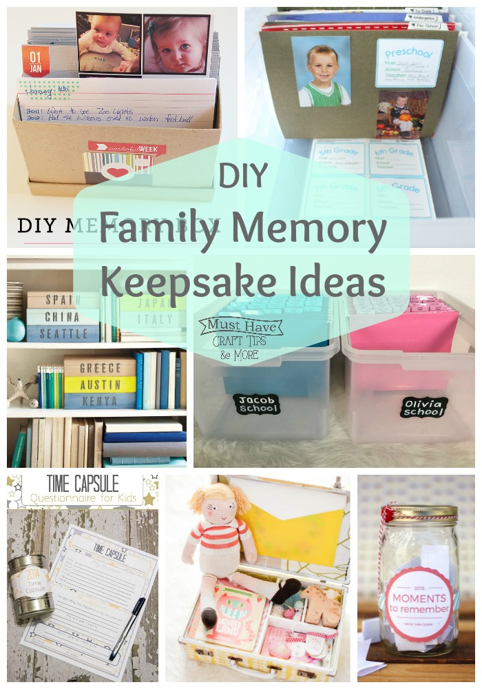 Mhct M Diy Family Memory Keepsake Ideas A Glimpse Inside