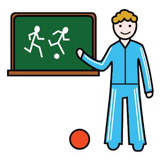 Resultado de imagen de profesor de gimnasia dibujo