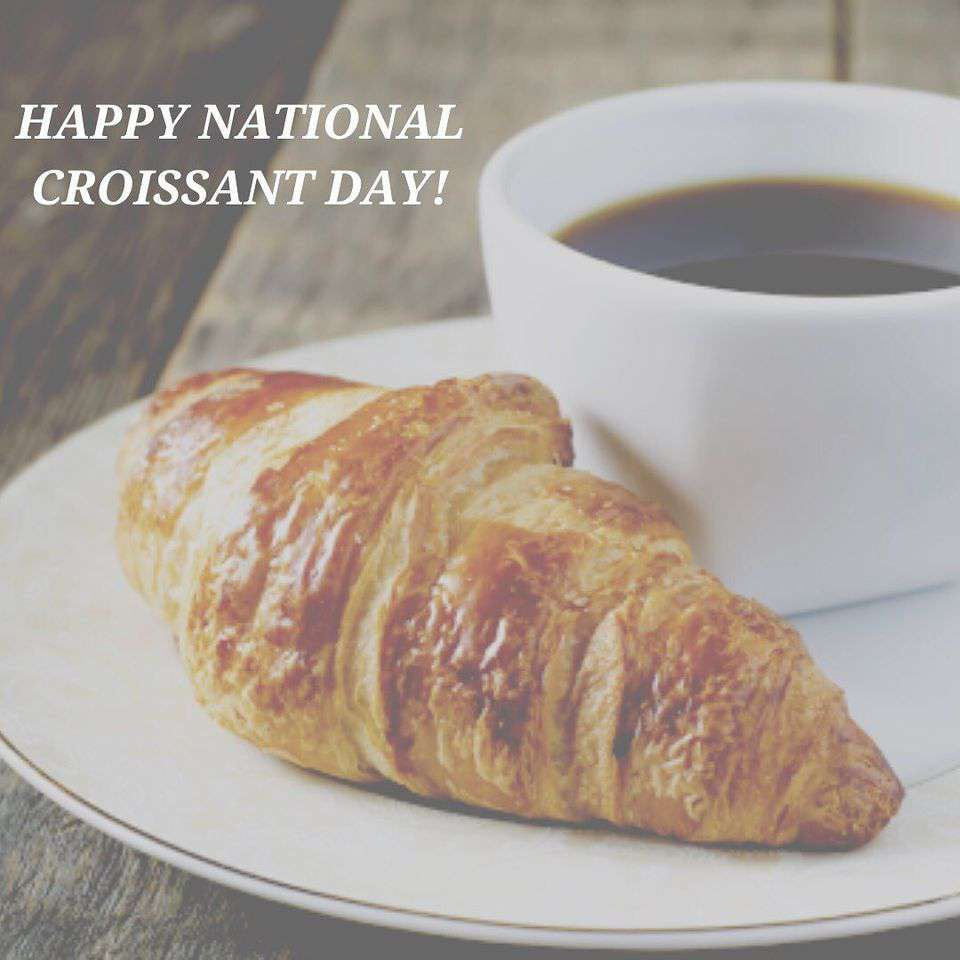 National Croissant Day Wishes Sweet Images