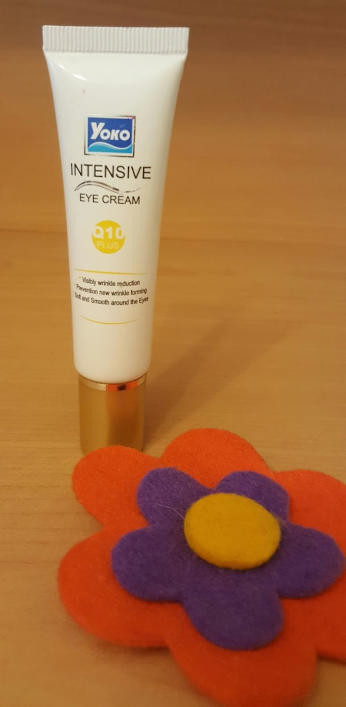Yoko Intensive Eye Cream Q10 - Yoko Q10 Yoğun Göz Kremi Deneyimim