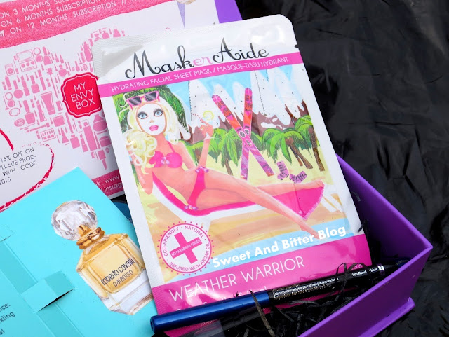 MaskerAide Hydrating Facial Sheet Mask Weather Warrior