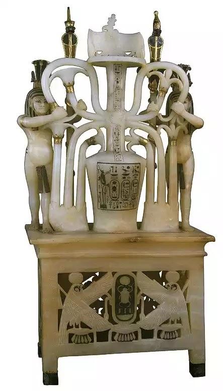 Tutankhamun Perfume Container