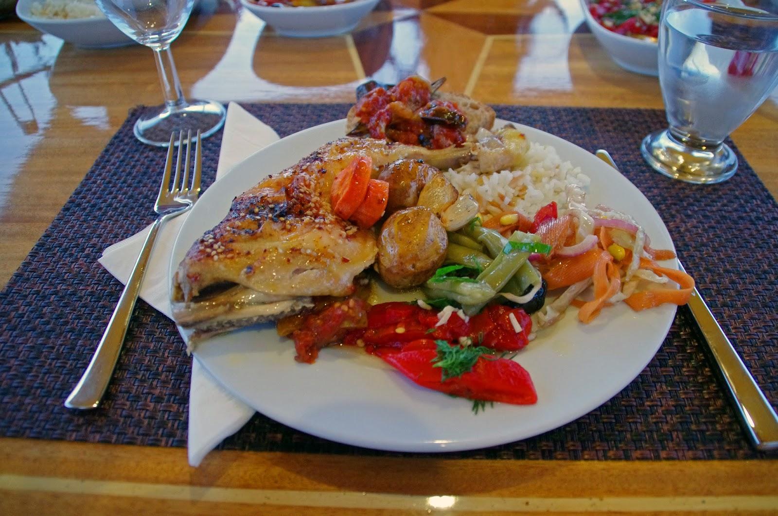 Dinner on Neyzen Yachting Trip