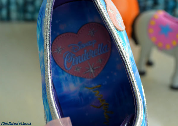 Irregular Choice Call Me Cinders insole heart