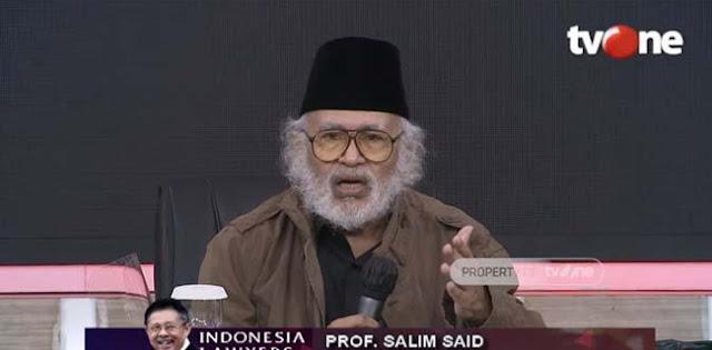 Salim Said: Gatot Nurmantyo Dkk Adalah Orang Yang Terpanggil Untuk Melakukan Perubahan