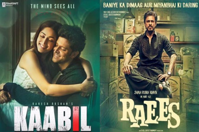 Raees, Kaabil, box office