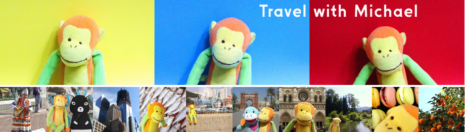 Travel with Michael TheMonkey
