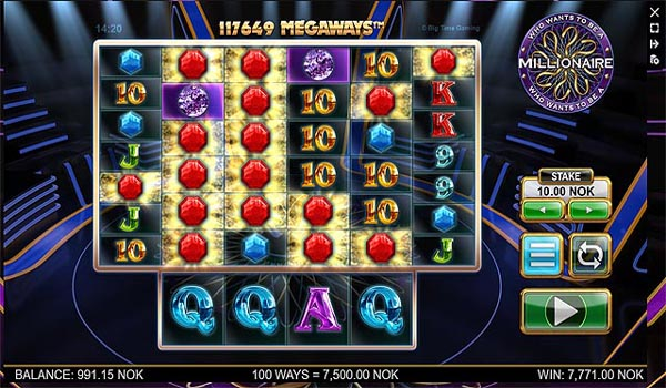 Main Gratis Slot Indonesia - Who Wants To Be A Millionaire Megaways (Big Time Gaming)