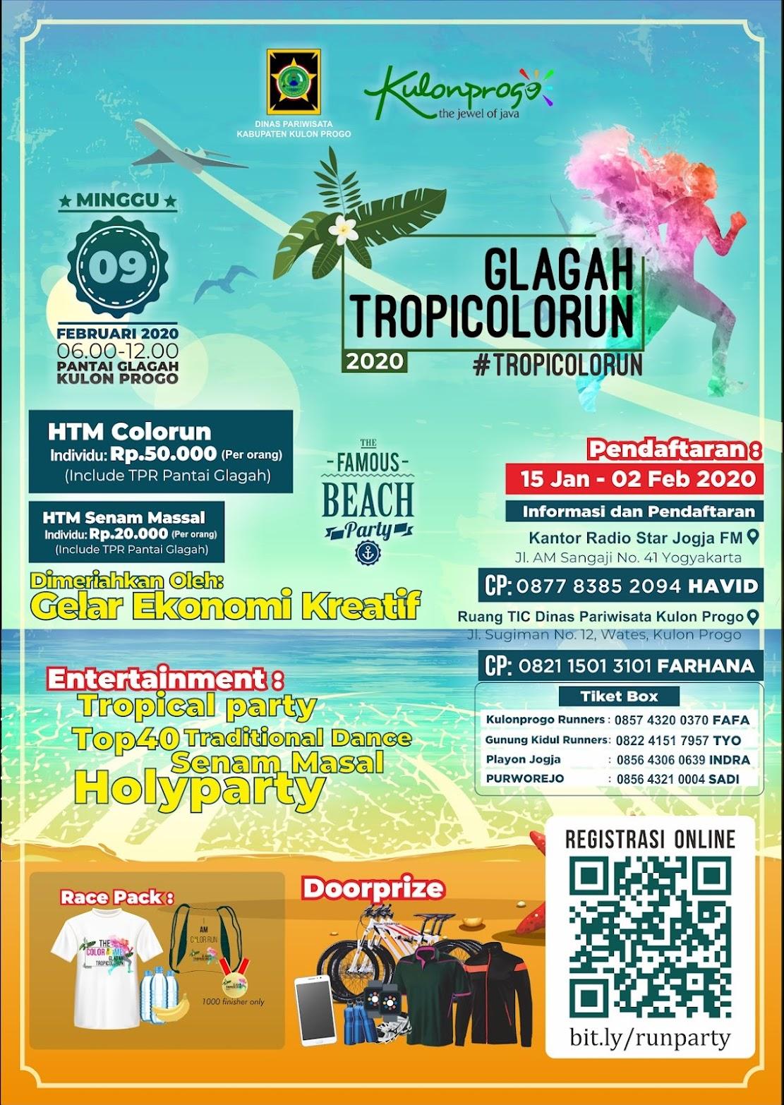 Glagah Tropicolorun • 2020