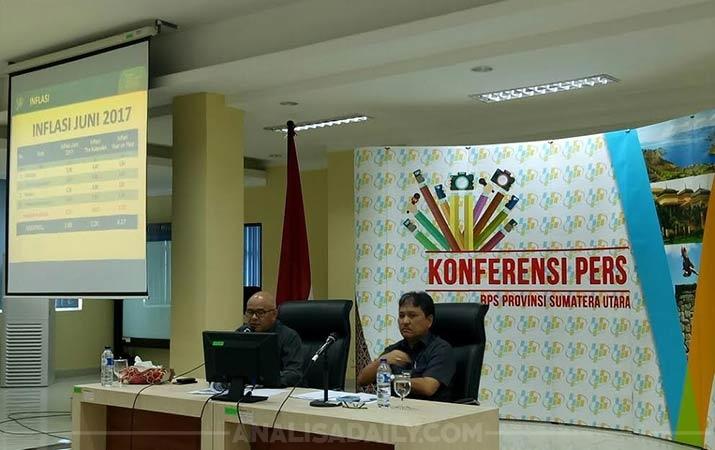 Kota Medan Mengalami Inflasi Sebesar 0.24 Persen