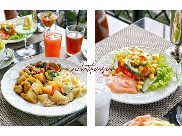 Menu Makan Siang di Sheraton Mustika Yogyakarta