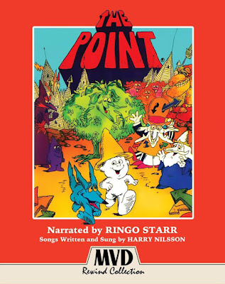 Cover art for MVD Rewind's Upcoming Blu-ray of THE POINT.