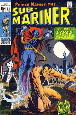 Sub-Mariner #22, Dr Strange