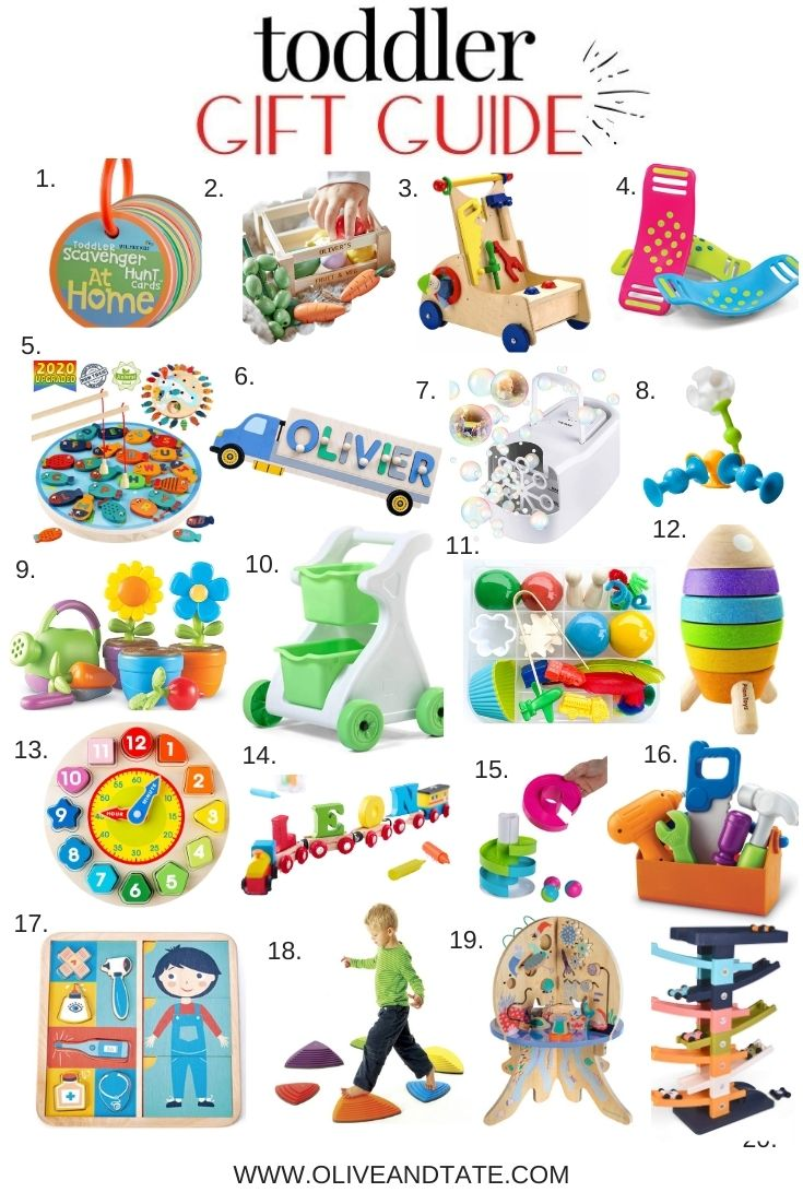 The Best Toddler Holiday Gifts of 2020