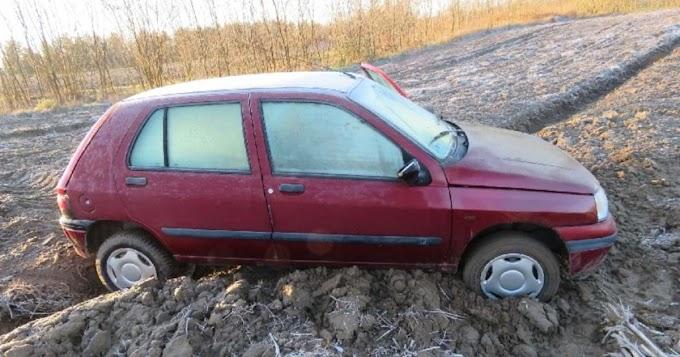 Egy somogysárdi szántón ért véget a részeges rali lopott autóval