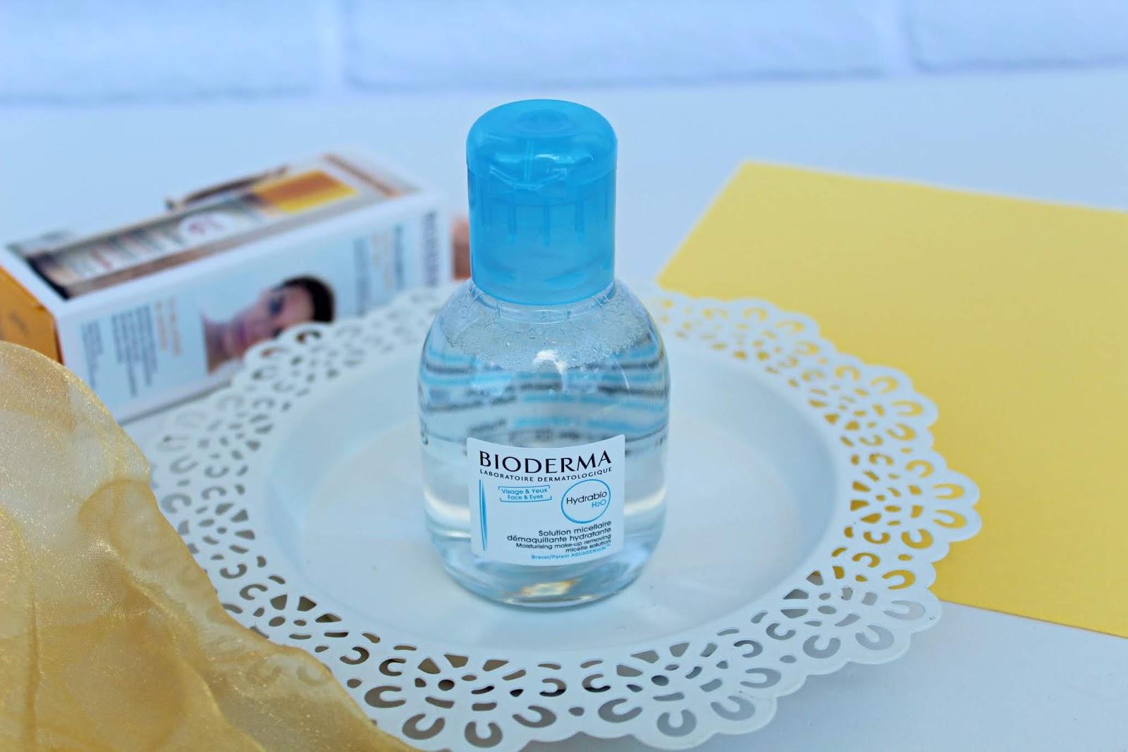 Bioderma Hydrabio H2O oczyszczający płyn micelarny do cery odwodnionej
