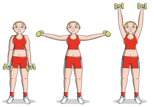 How to firm up the breast: the circuit for a toned breast 2